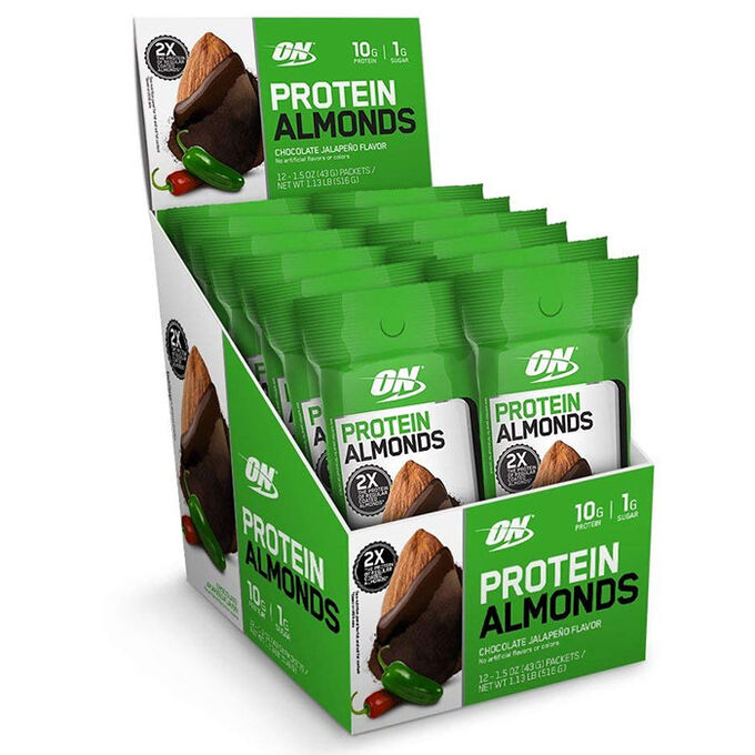 Protein Almonds 12 Pack Chocolate Jalepeno