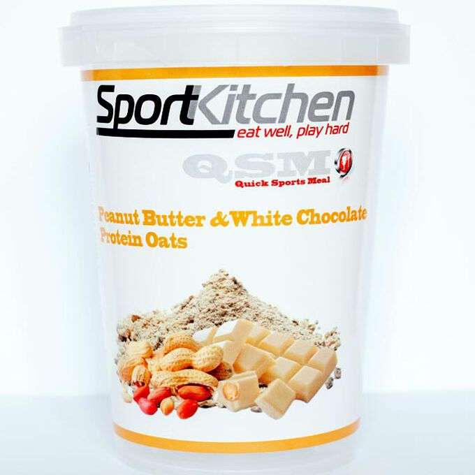 Sports Kitchen Protein Oats Peanut Butter & White Chocolate 1 Meal