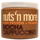 Nuts n More Peanut Butter 454g Mocha Cappuccino
