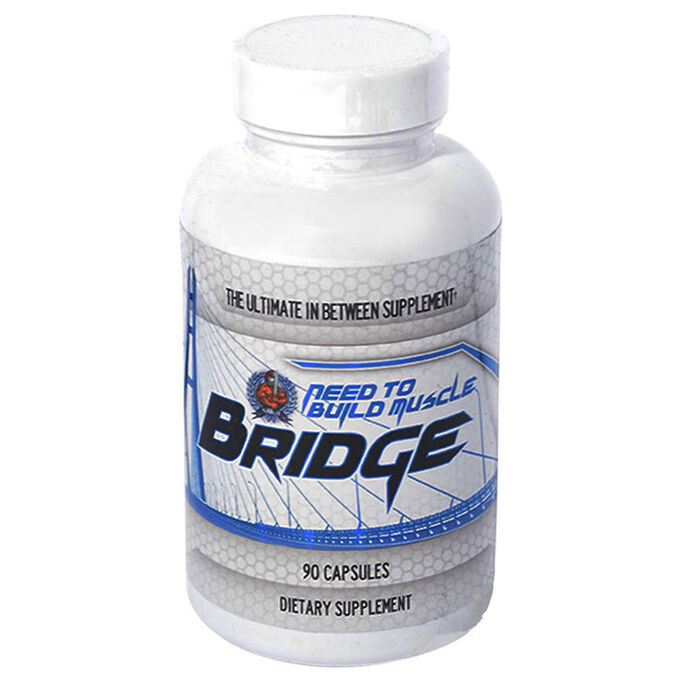 Need to build muscle Need to Build Muscle - Bridge 90 caps - Natural testosterone support