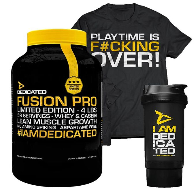 Dedicated Nutrition Fusion Pro 1792g Banana Ice Cream