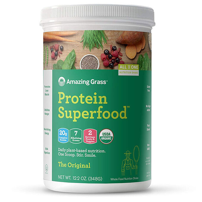 Amazing Grass Protein SuperFood 12 Servings Original