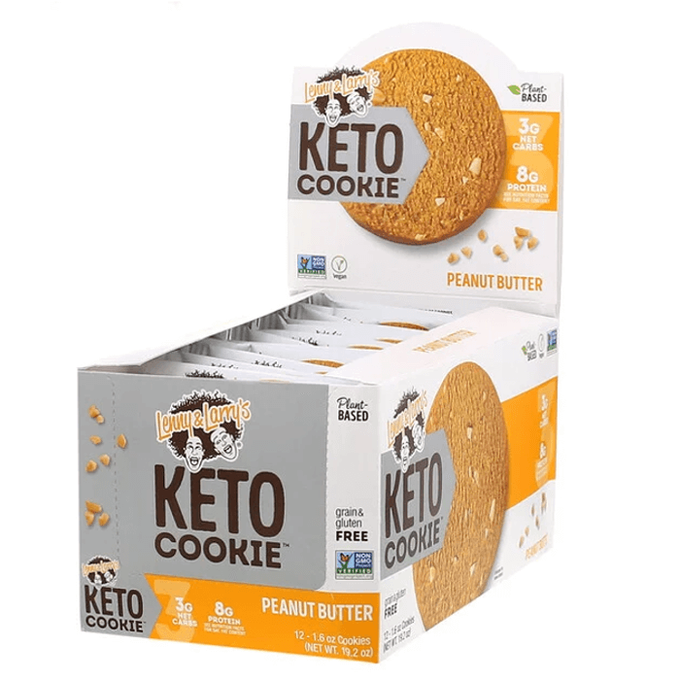 Lenny & Larry's Keto Cookie 12 Pack Peanut Butter