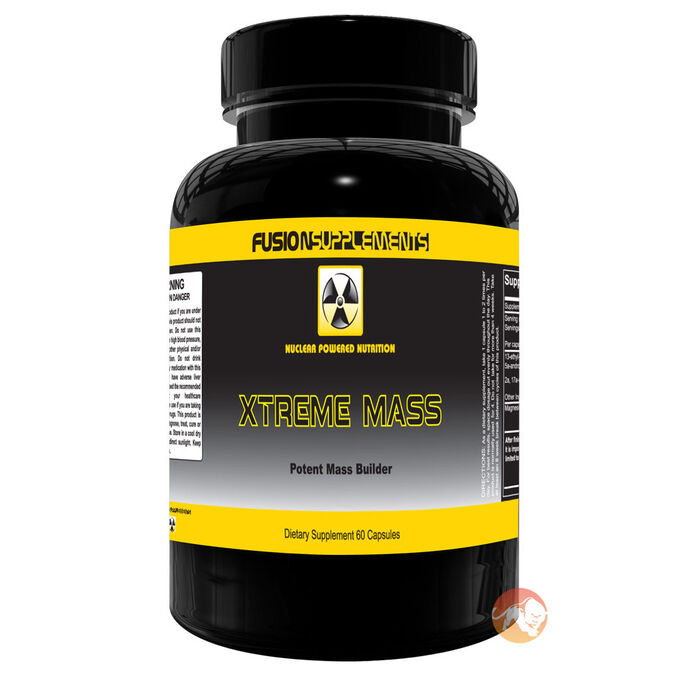 Fusion supplements Xtreme Mass 60 Caps