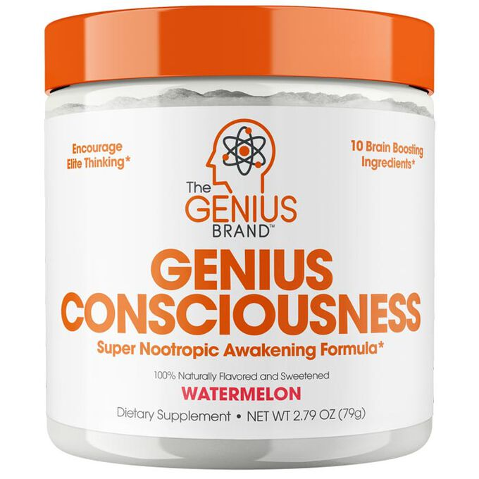 The Genius Brand Genius Consciousness 30 Servings Watermelon