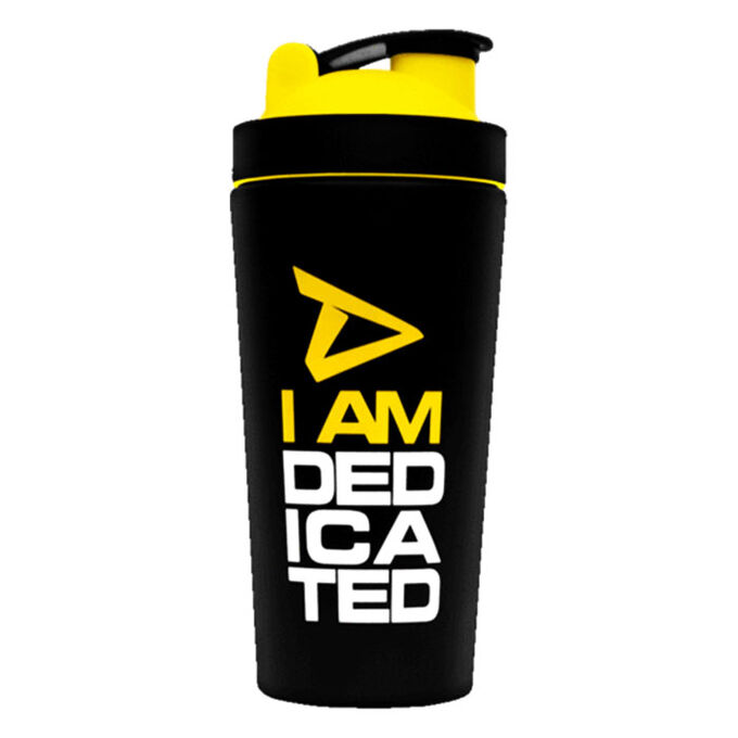 Dedicated Nutrition Dedicated Metal Shaker Matt Black