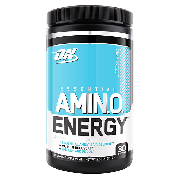 Optimum Nutrition Amino Energy Exclusive Flavours 30 Servings Cotton Candy