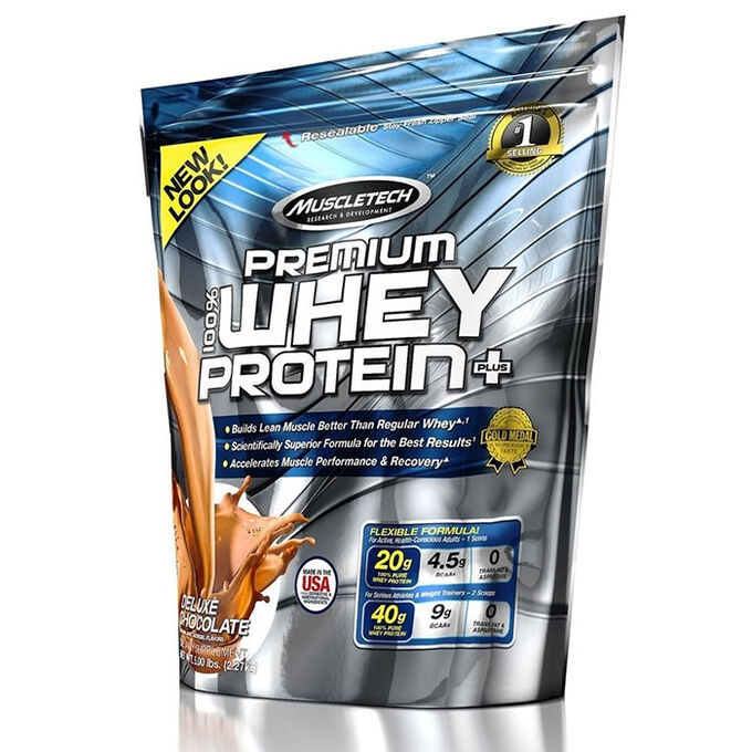 Muscletech Premium Whey Protein Plus 907g Chocolate