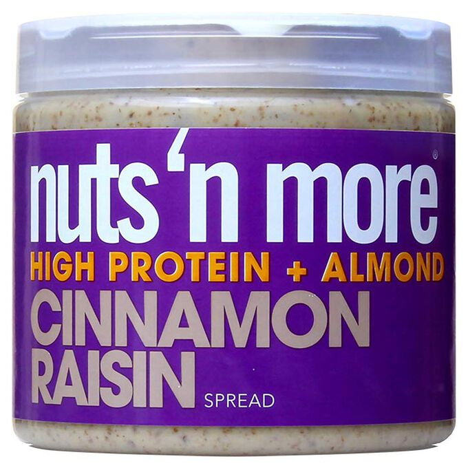 Nuts 'N More Nuts n More Cinnamon Raisin Almond Butter 454g