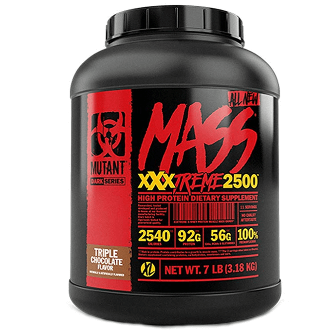 Mutant Mutant Mass Xxxtreme 2500 3.18kg Triple Chocolate