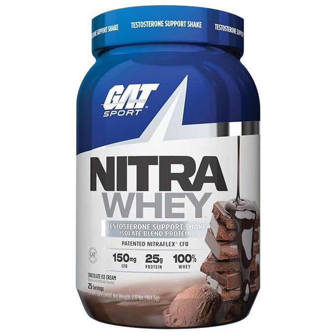 Nitra Whey 984g Chocolate Ice Cream
