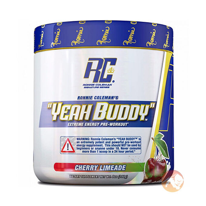 Ronnie Coleman SignatureSeries Yeah Buddy 30 Servings Green Apple