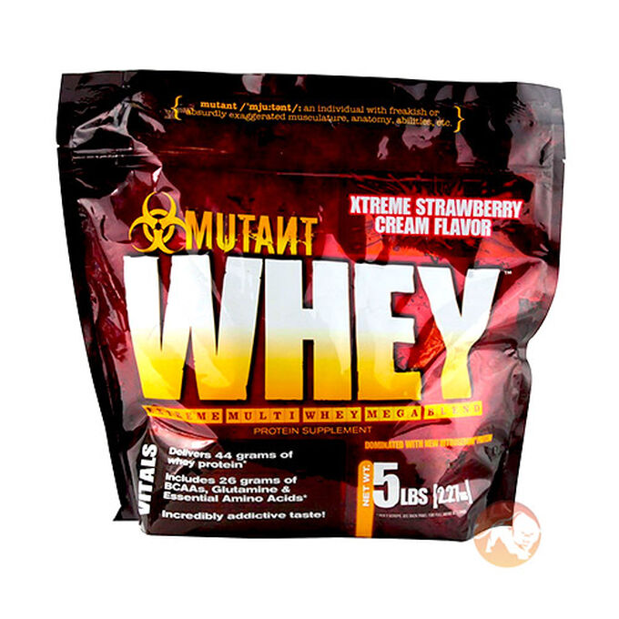 Mutant Whey 2.27kg Xtreme Strawberry Cream