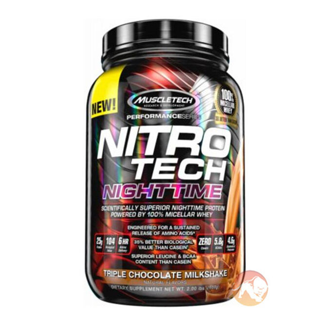 Nitro-Tech Nighttime 907g French Vanilla
