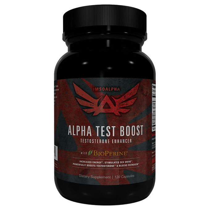 Alpha Test Boost 120 Capsules