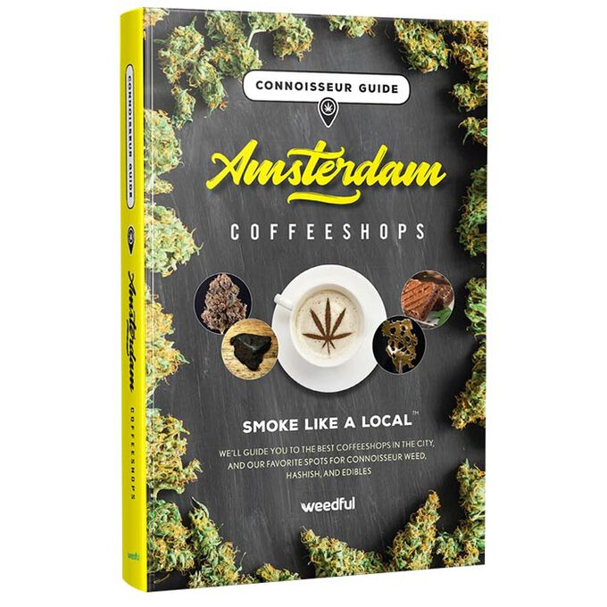 Connoisseur Guide Amsterdam Coffeeshops Hardcover