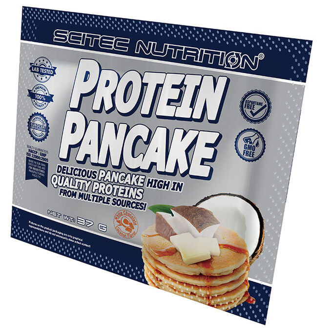 Protein Pancake Single Serving Coconut White Chocolate