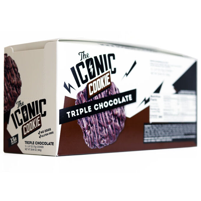 The Iconic Cookie 12 Cookies Triple Chocolate