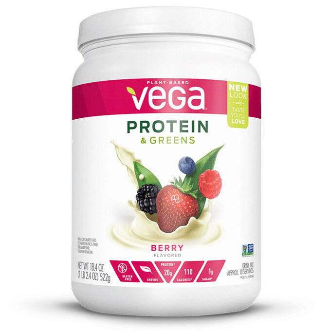 Protein & Greens 609g Berry