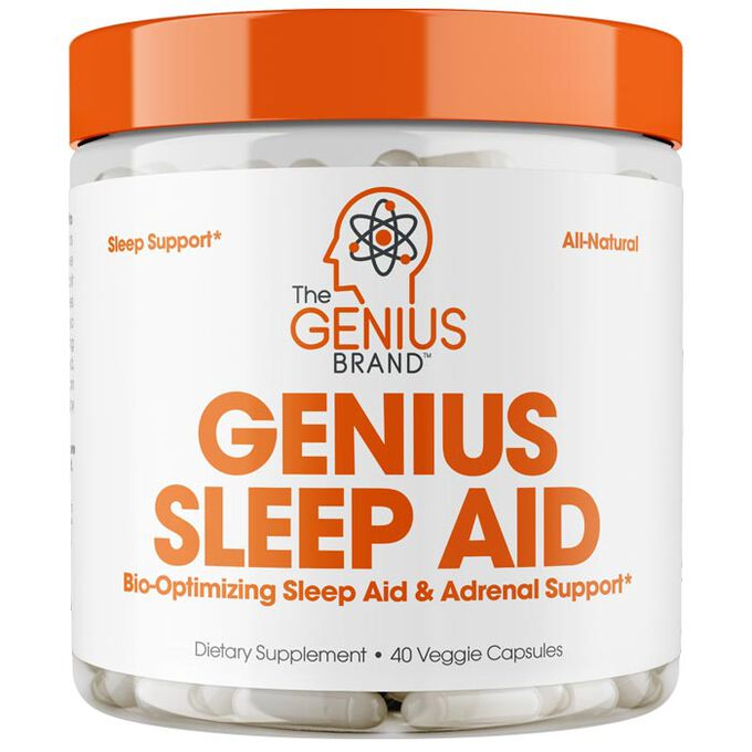 Genius Sleep Aid 40 Capsules