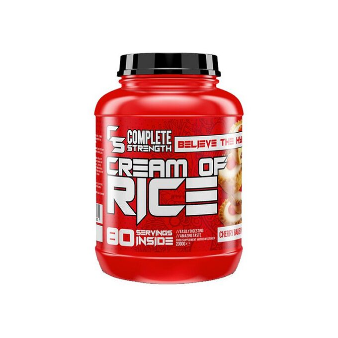 Complete Strength Cream Of Rice 2kg Caramel Biscuit