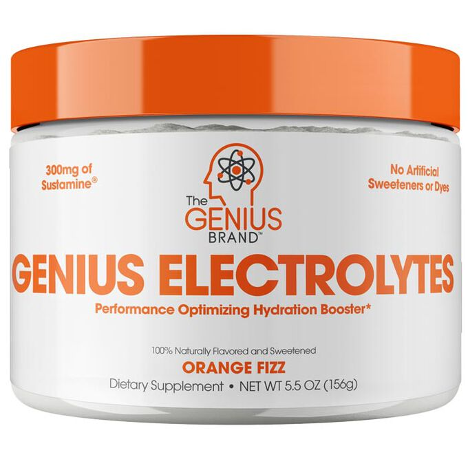 Genius Electrolytes 30 Servings Natural Orange