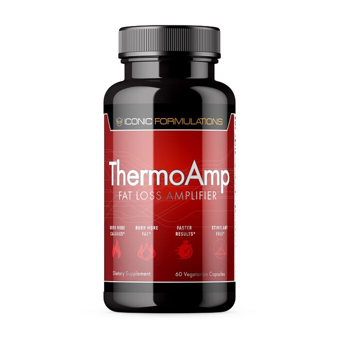 Iconic Formulations ThermoAmp 60 Capsules