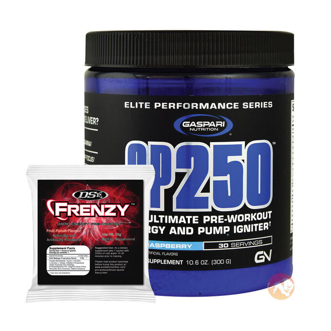 SP 250 30 Servings Blue Raspberry