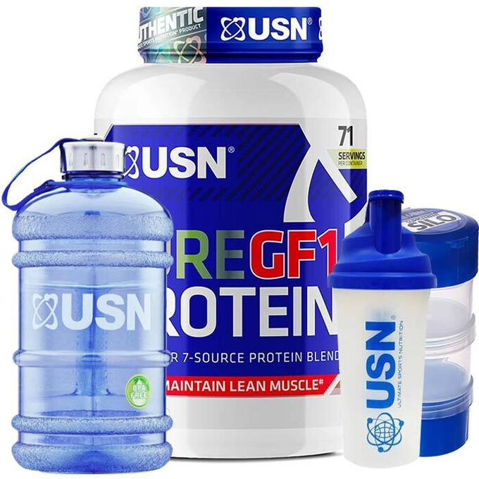 USN Pure Protein GF-1 Strawberry 2kg