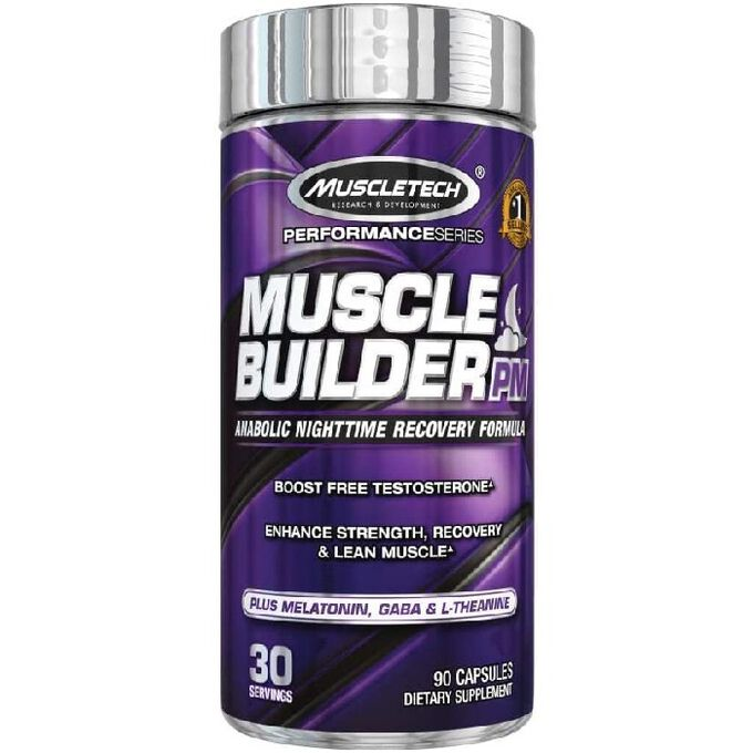 Muscletech Muscle Builder PM 90 Capsules