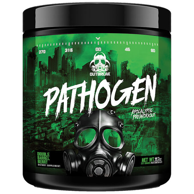 Outbreak Nutrition Pathogen 30 Servings Double Barrel Berry