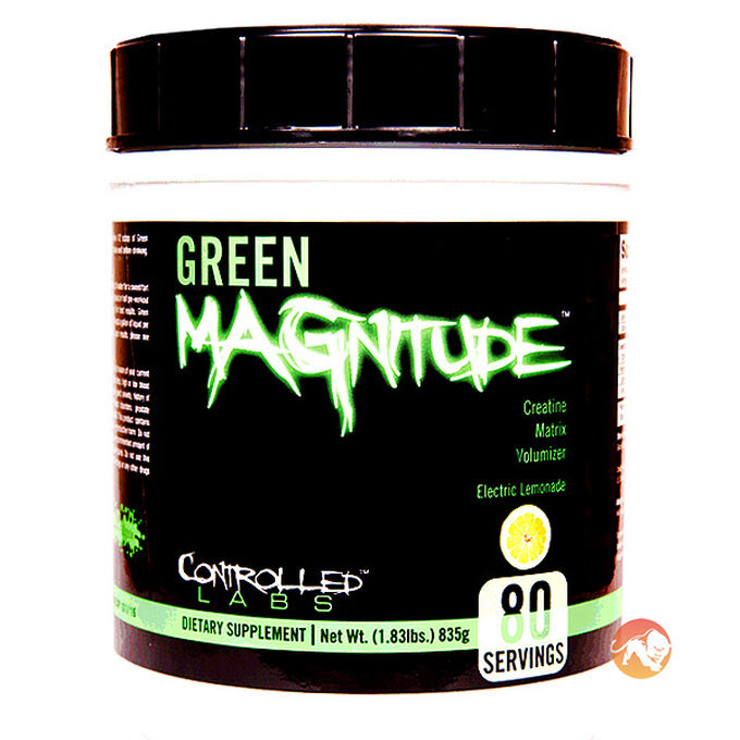 Controlled Labs Green MAGnitude 80 Servings Lemonade