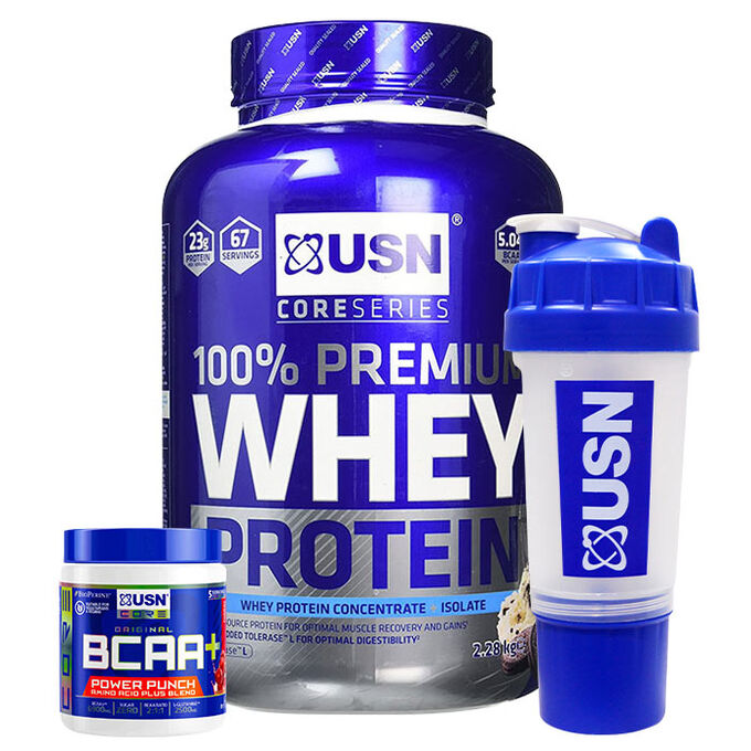 USN Whey Protein Premium 2.2kg Cookies and Cream