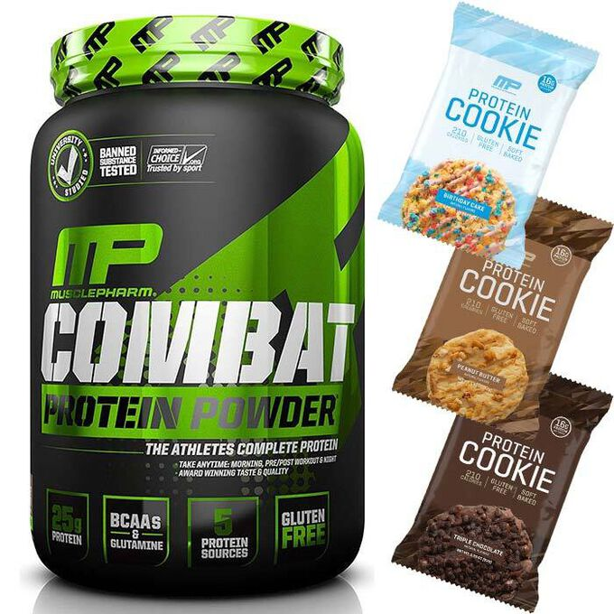 MusclePharm Combat Powder 2lb-Chocolate