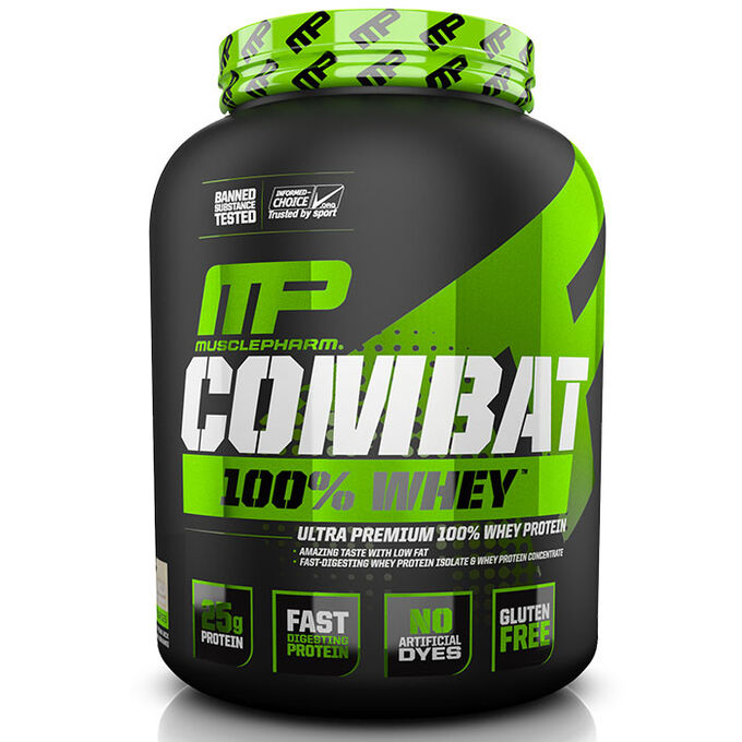 MusclePharm Combat 100% Whey 1.8kg Strawberry