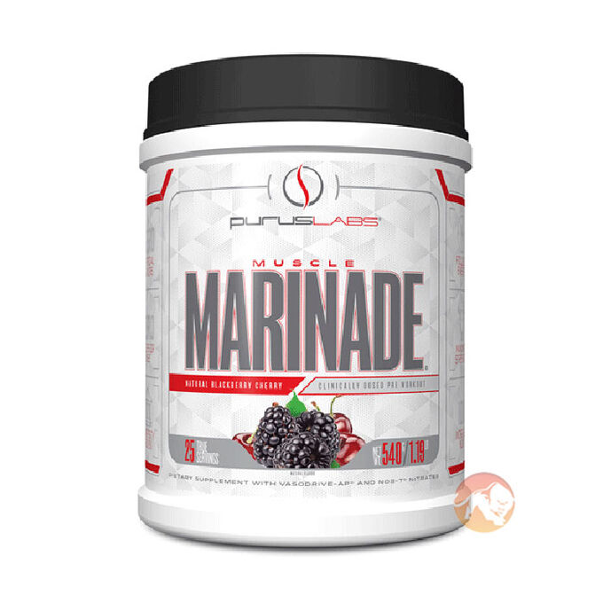 Muscle Marinade 25 Servings Natural Blackberry Cherry