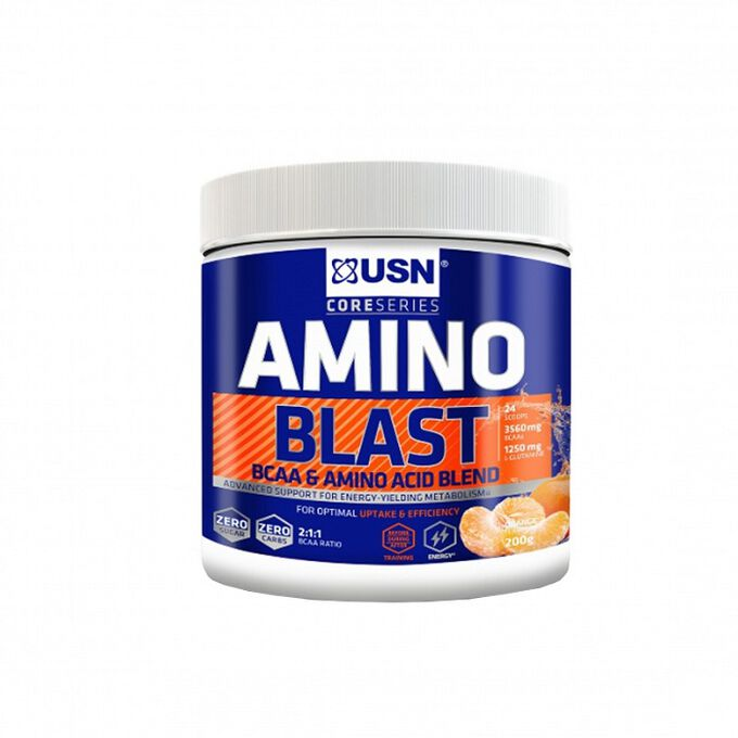 USN USN Amino Blast 23 Servings Orange