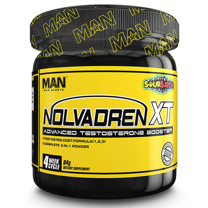 Man Sports Nolvadren XT Powder 28 Servings Tiger's Blood