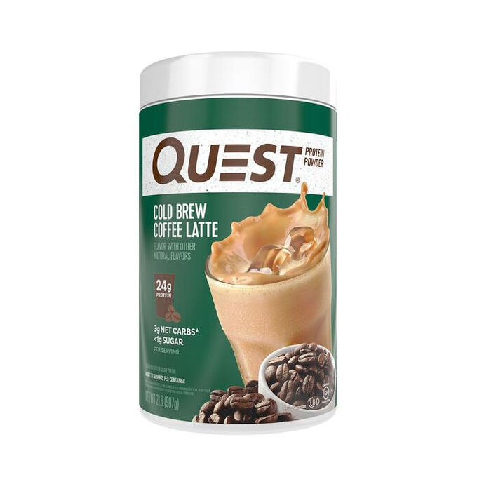 Quest Protein Powder 907g Cold Brew Coffee Latte