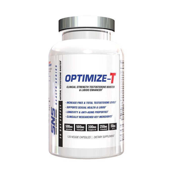 Serious Nutrition Solutions Optimize-T 120 Capsules