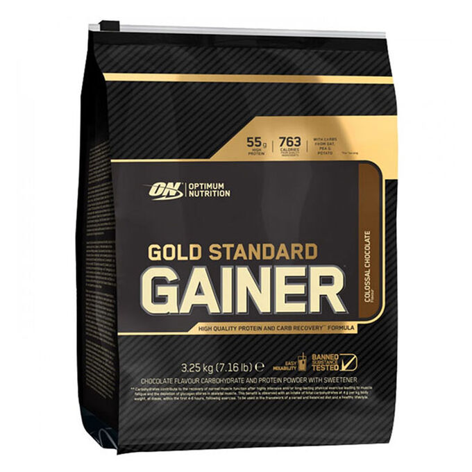 Gold Standard Gainer 3.25kg Strawberry Shake