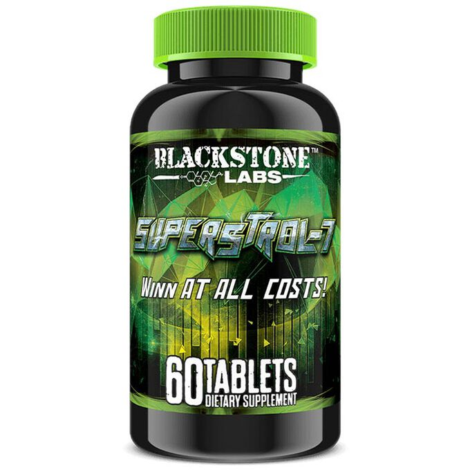 SuperStrol-7 60 Tablets