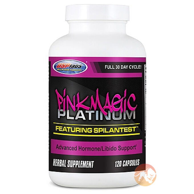 Pink Magic Platinum 120 Capsules