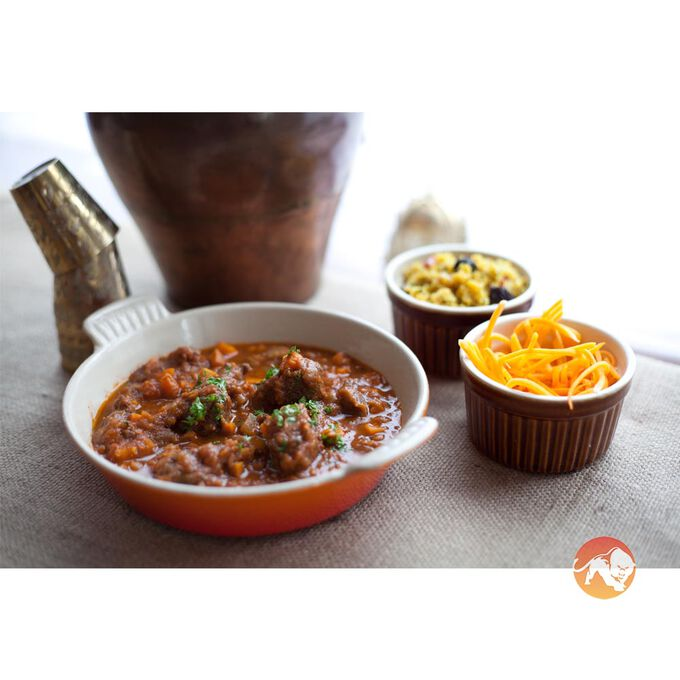 Kezie Foods Wagyu Beef Meatballs in a Tomato Salsa