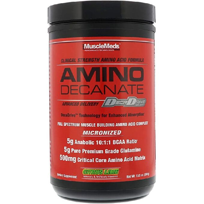 Musclemeds Amino Decanate 30 Servings Citrus Lime