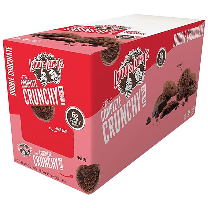 Complete Crunchy Cookie 12 Bags Double Chocolate