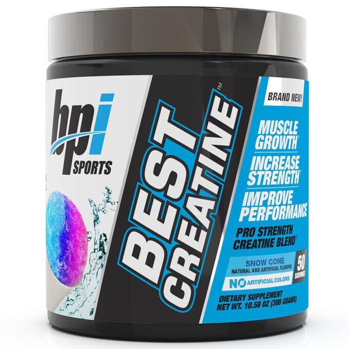 BPI Sports Best Creatine 50 Servings - Snow Cone