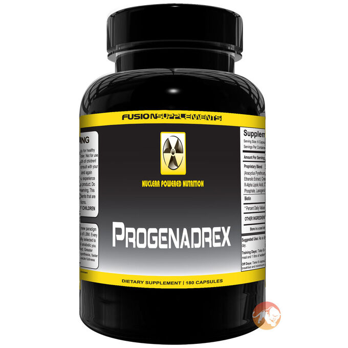 Fusion supplements Progenadrex 180 Caps