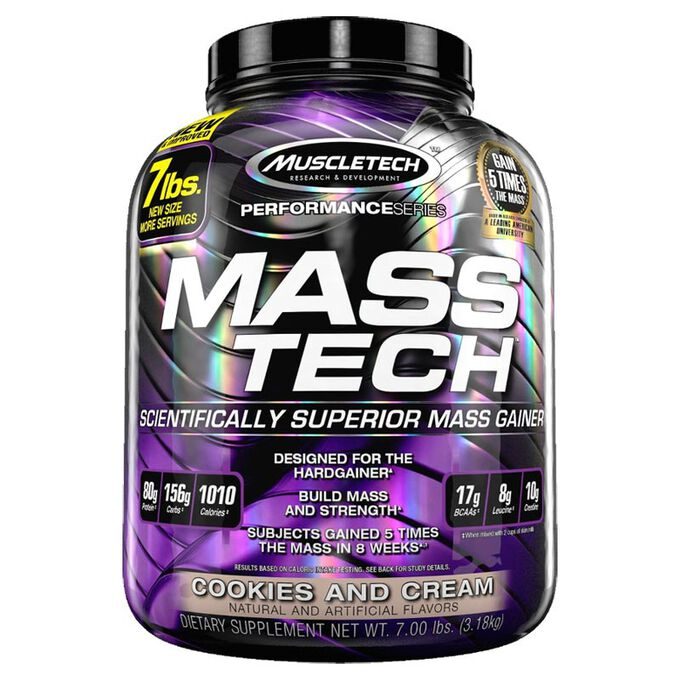 Muscletech Mass Tech 7lb -Chocolate