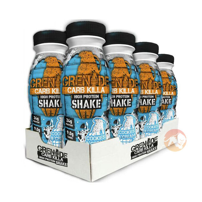 Carb Killa Shake 8 x 330ml Cookies and Cream